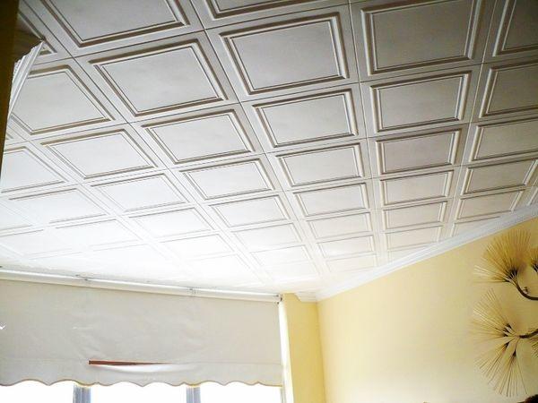 Inexpensive Ceiling Tile Ideas Deckenarchitektur Deckengestaltung Deckenplatten