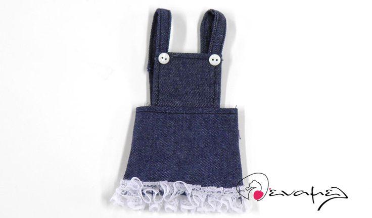 Κεράσματα γέννας φόρεμα τζίν    Διαστάσεις: 14x8cm  Η τιμή…