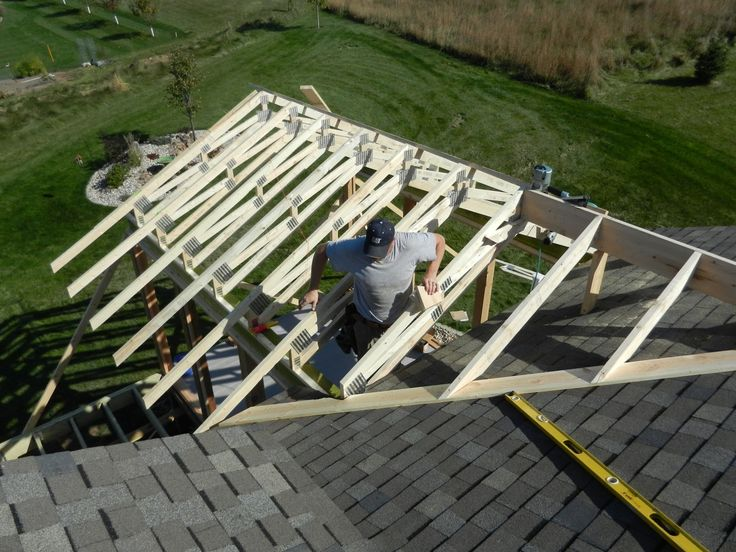 Tying Into A Exsisting Roof At The Same Time Next