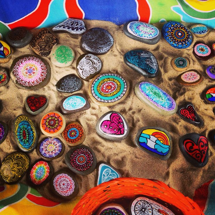Wish pebbles at Market !!