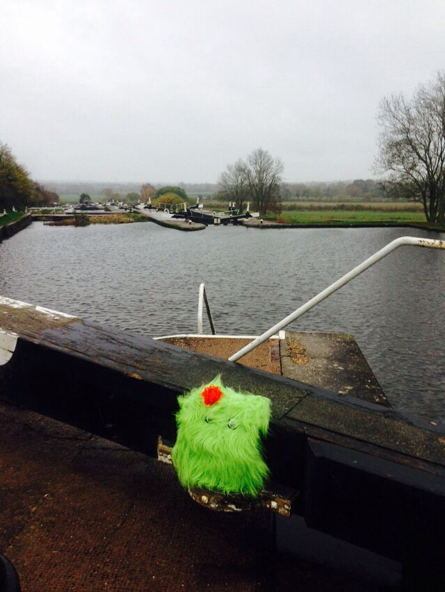 Where has BUMBLES been? He is at Edmonds House Party along the Grand Union Canal but where?