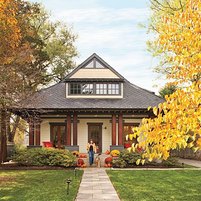 Modern Bungalow Home Plans: Front: After - Bungalow Home Plans - Southern Living