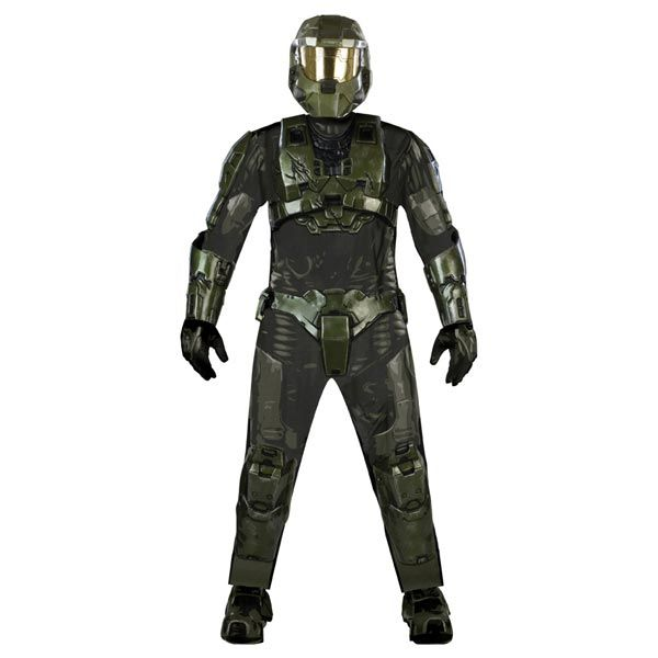 Deluxe Master Chief Adult Costume - Halo Adult Costumes