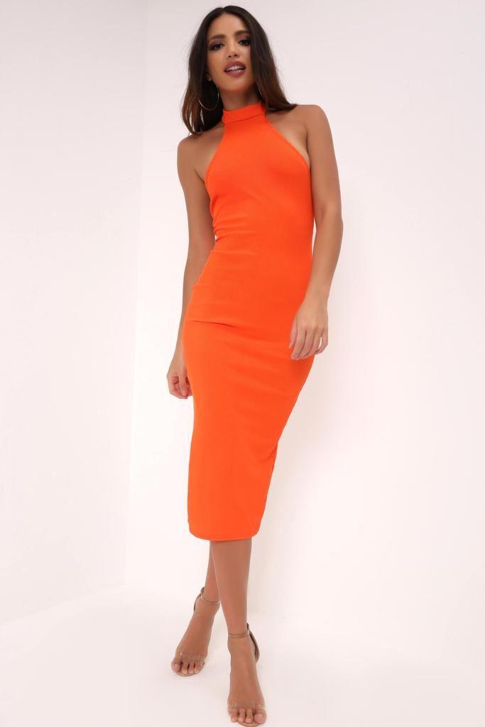 30+ High neck midi dress info