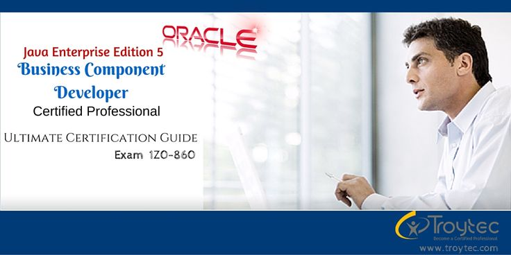 #Java Enterprise Edition 5  #BusinessComponentDeveloper  #CertifiedProfessional #1Z0_860