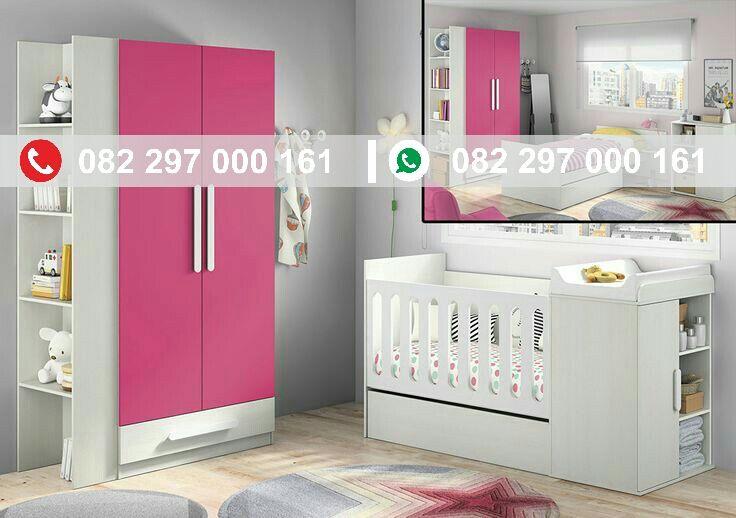 Set kamar bayi minimalis pink merupakan set kamar bayi dengan nuansa feminim yang di sukai oleh anak perempuan, dengan harga yang sangat terjangkau.