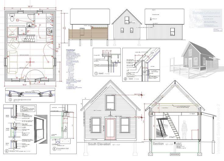 Terrific 17 Best Images About Tiny House Blueprints Studio Loft On Largest Home Design Picture Inspirations Pitcheantrous