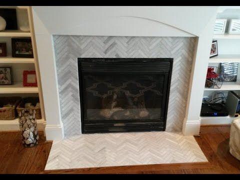 Best 20 Glass Tile Fireplace Ideas On Pinterest