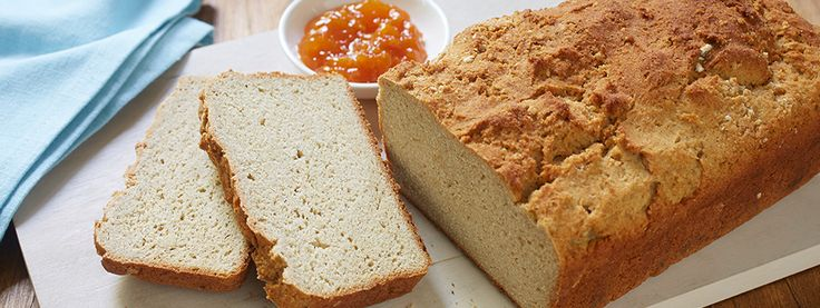 Gluten Free Breakfast Bread - Nothing is more delicious than homemade bread. And this gluten free loaf is no exception! Try this gluten free recipe sliced and toasted for a delightful treat.