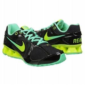 Nike Women's Reax Run 8 Black/Green/Volt