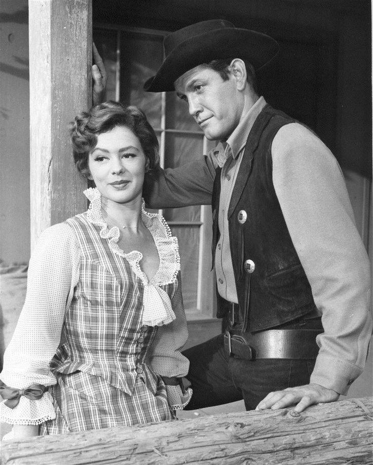 Earl Holliman and Judi Meredith