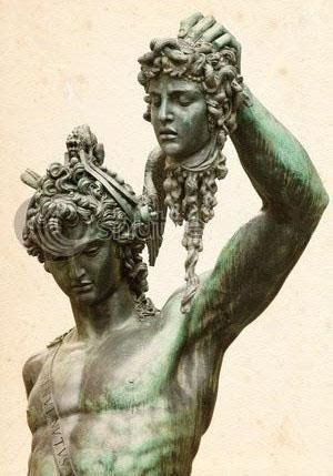 Perseus and Medusa by Benvenuto Cellini, medusa was beheaded so I am going to try and incorporate this aspect of the story into my character