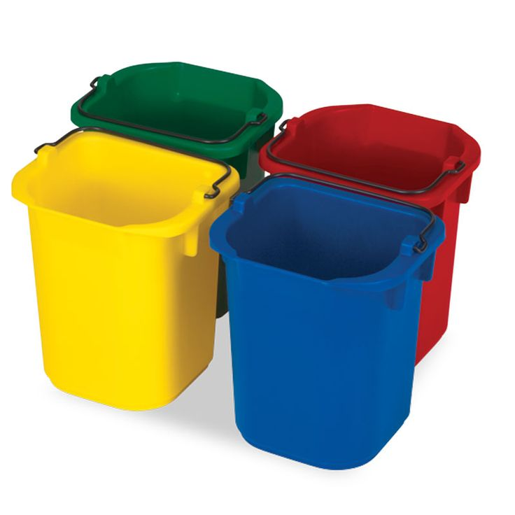 5L sanitising caddy - set of 2 colours