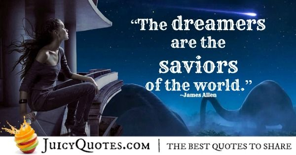 Quote of the day about dreams