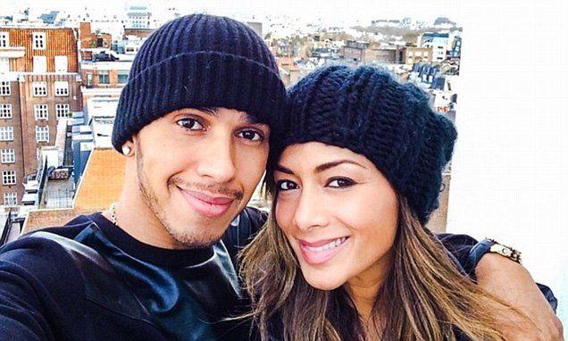 Lewis Hamilton posts tribute to his ex-girlfriend Nicole Scherzinger #DailyMail