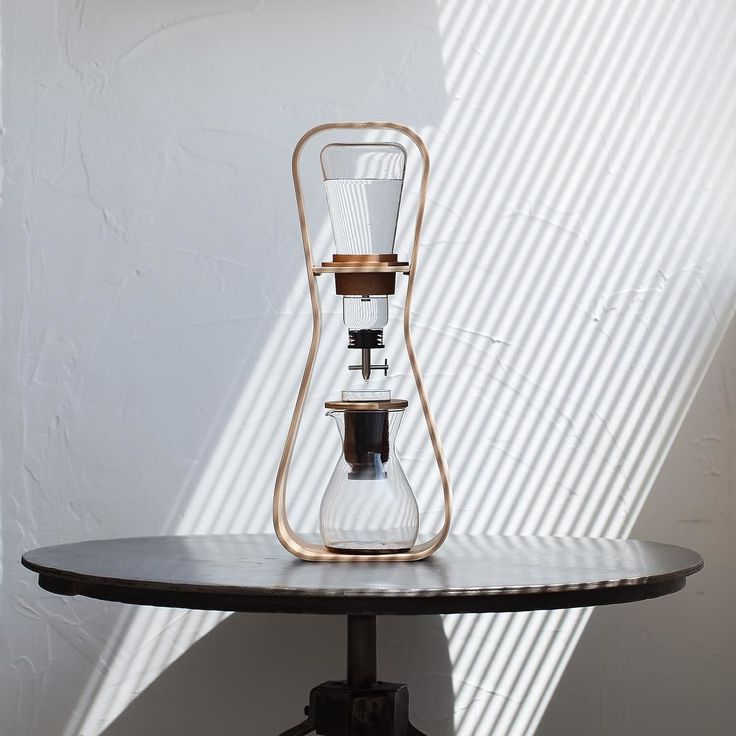Cold brew coffee Love to listen the sound of a liquid falling drop by drop…