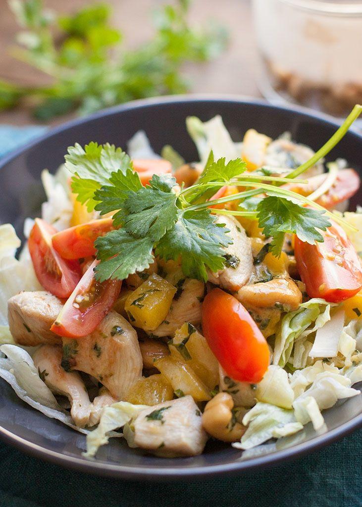 Mango-kip salade - Paleo Recepten.nl