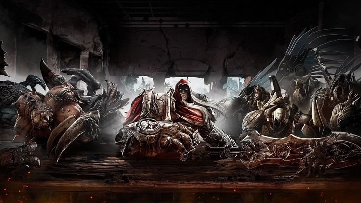 darksiders game wallpaper 2560x1440 for tablets