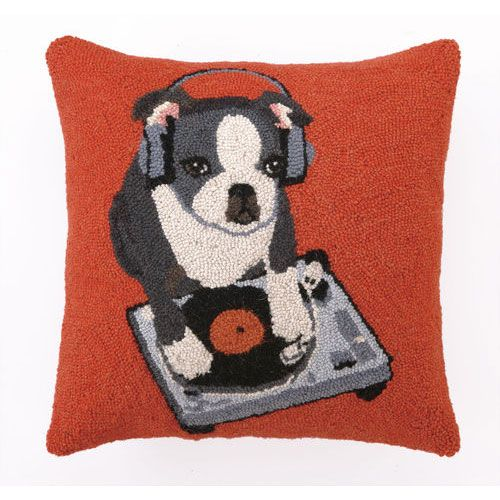 Boston Terrier Pillow from PoshTots
