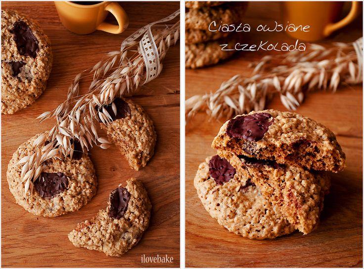 Haferflocken Cookies-mit-Schokolade-1-ilovebake
