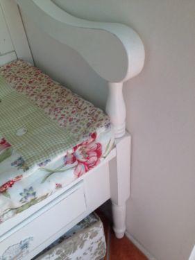 k chenbank truhenbank shabby wei in eimsb ttel hamburg. Black Bedroom Furniture Sets. Home Design Ideas