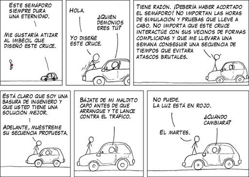 Humor de Ingenieros – Estudios de Tráfico
