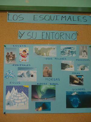 los peques del cole: PROYECTO: LOS ESQUIMALES
