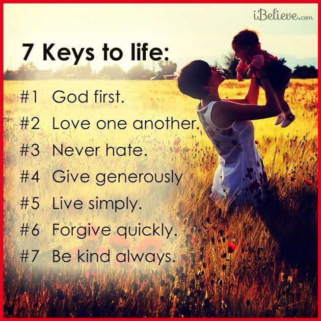 Inspirational Quotes For Christian Ladies: 7 Keys To A Godly Life Https://www.facebook.com/pages
