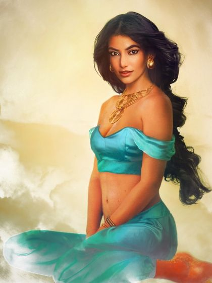 "Disney princesses ""in real life."" LOVE."