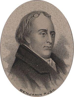 Benjamin Rush  1745-1813  Representing Pennsylvania at the Continental Congress