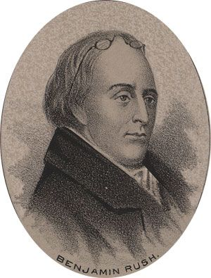 Benjamin Rush  1745-1813  Representing Pennsylvania at the Continental Congress