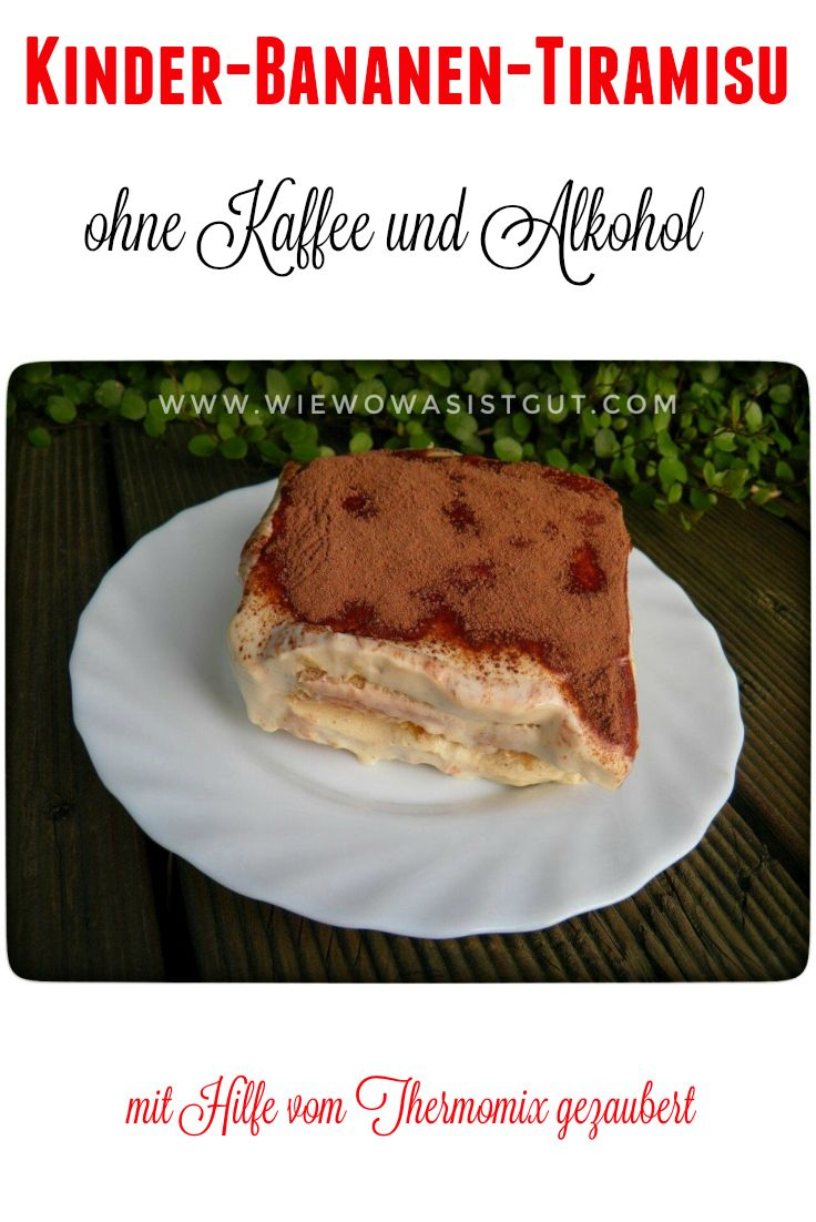 Leckeres Kinder-Bananen-Tiramisu ohne Kaffee und Alkohol. Da können alle zusammen genießen. (scheduled via http://www.tailwindapp.com?utm_source=pinterest&utm_medium=twpin&utm_content=post118191753&utm_campaign=scheduler_attribution)