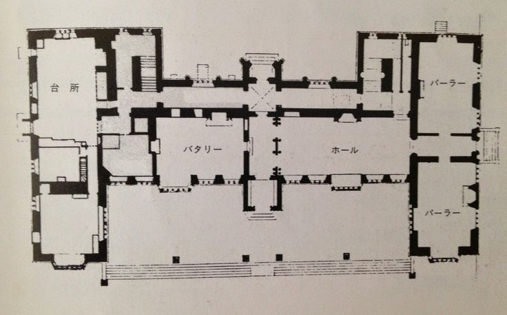 Montacute House Floorplan Pinterest