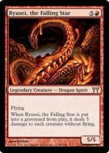 Ryusei, the Falling Star Magic the Gathering Card Rulings, Erratas and Information - MtgFanatic.com