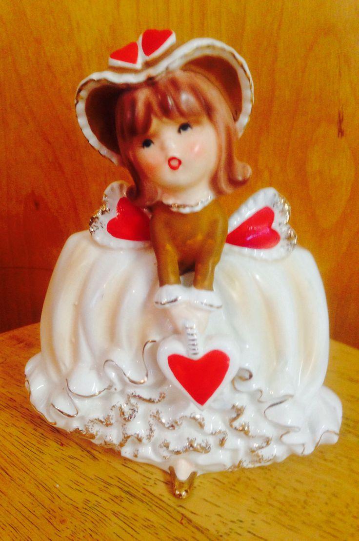 Vintage lefton sister figurine collectibles