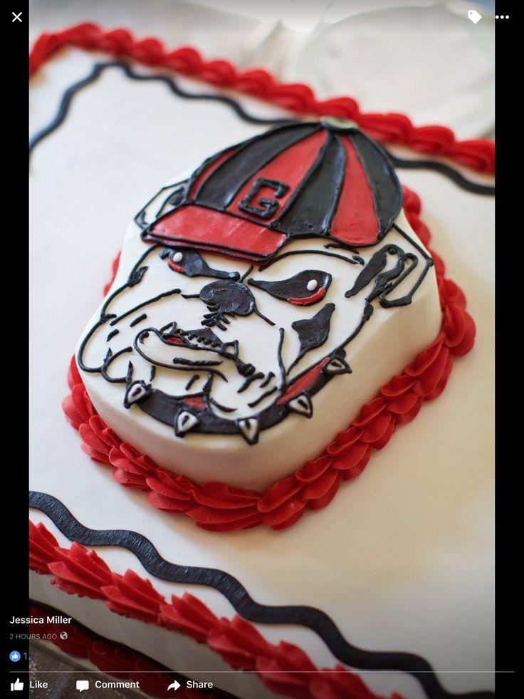 Georgia Bulldog Cake Pops