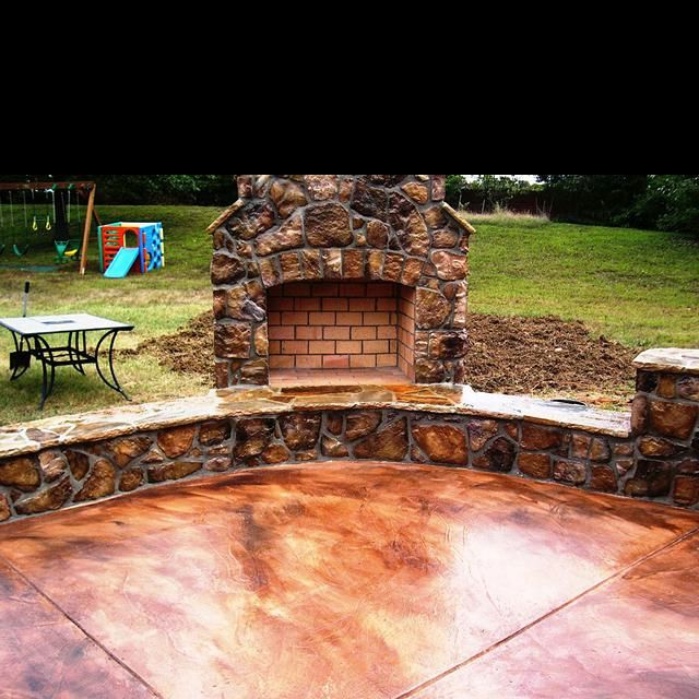 Ideas For Old Cement Patio: 25+ Best Ideas About Concrete Patio Stain On Pinterest