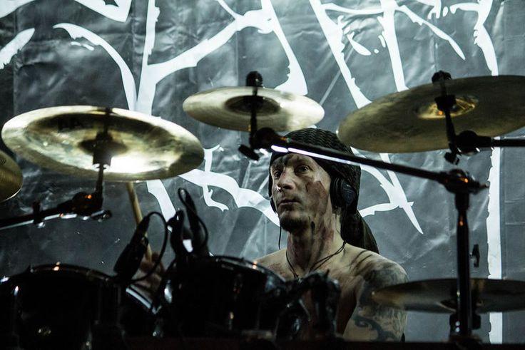 ex drums Dennis Ekdahl 2000-2004