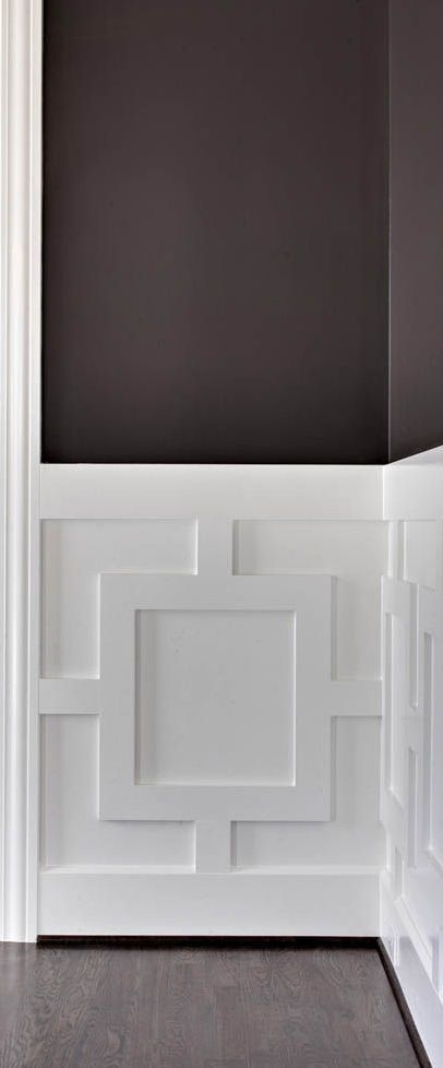 54 best board and batten images on pinterest bedrooms for Contemporary trim moulding