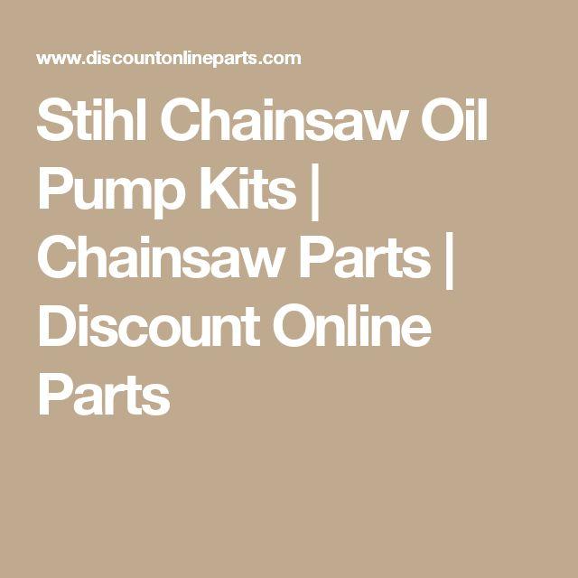 Stihl Chainsaw Oil Pump Kits | Chainsaw Parts | Discount Online Parts
