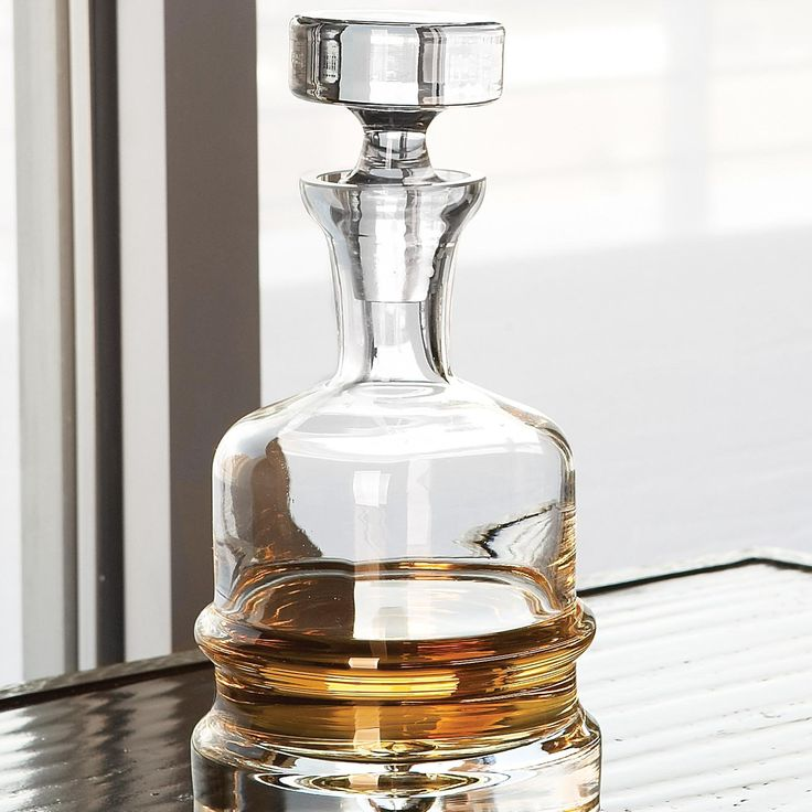 Global Views Clear Traditional Decanter | from hayneedle.com