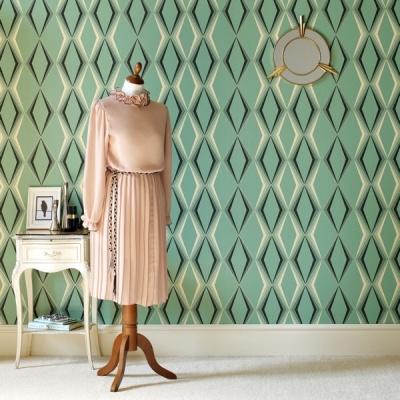 Issu de la dernière collection Vintage conçue par les designers Gerardine et Wayne Hemingway de Hemingway Design en exclusivité pour Graham & Brown