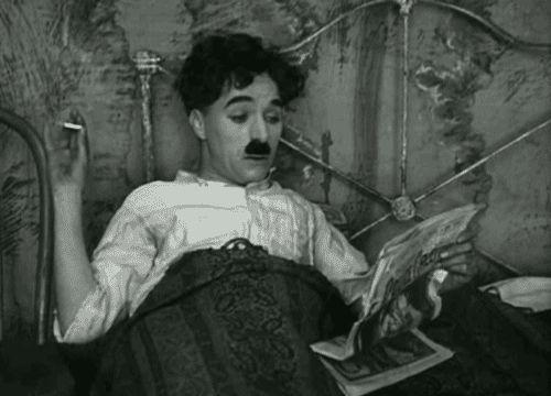 Charlie Chaplin - GIF
