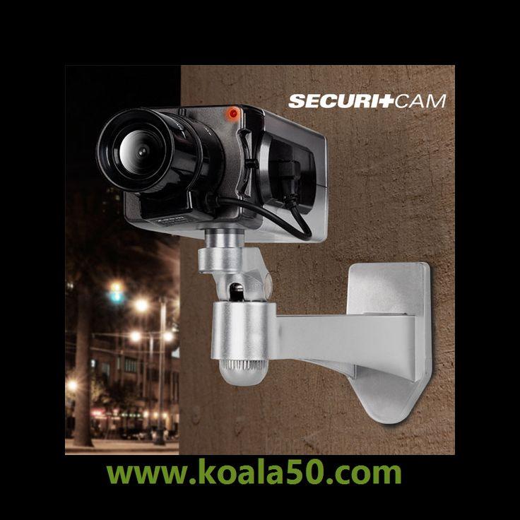 Cámara de Vigilancia Simulada Securitcam T6000 - 6,26 €   ¡Descubre la cámara de vigilancia simulada Securitcam T6000 con sensor de movimiento diurno que te ayudará a proteger la seguridad de tu hogar! Es de plástico, pero gracias a su apariencia tan...  http://www.koala50.com/gadgets-originales/camara-de-vigilancia-simulada-securitcam-t6000