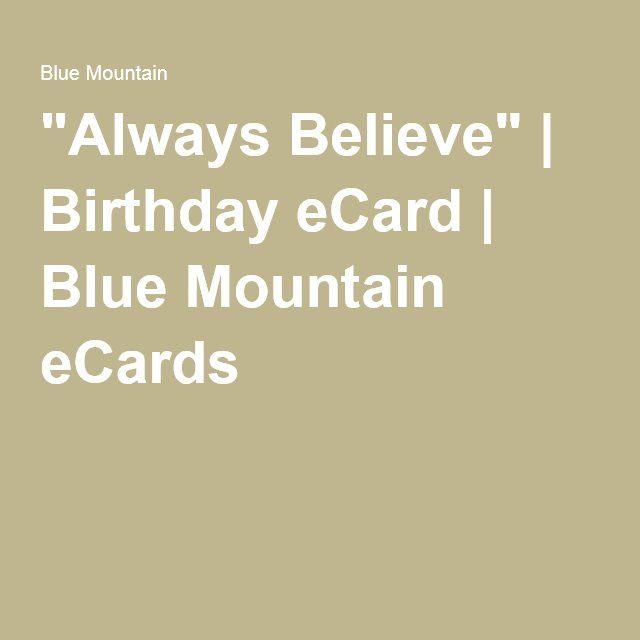 free ecards blue mountain