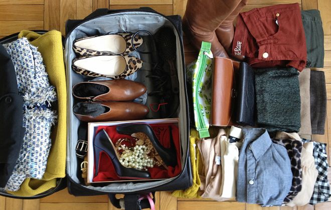 Style in a Suitcase, Part 1 - Gingham and Lace