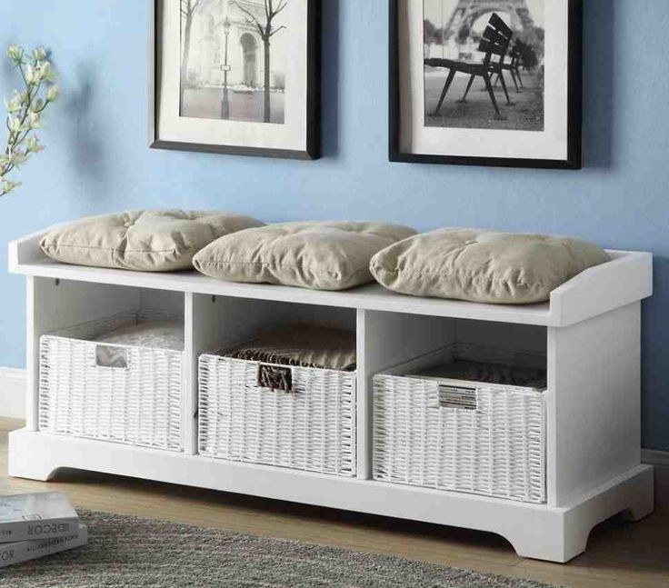 White Storage Bench With Cushion 12 Best Better Storage Bench Cushion Images On Pinterest