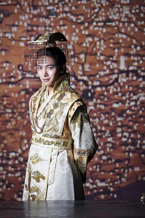 "Ta Hwan, aka Emperor Huizong of Yuan, as played by Ji Chang-Wook in ""Empress Ki"", Korean TV Series"