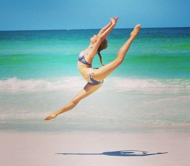 dance beach