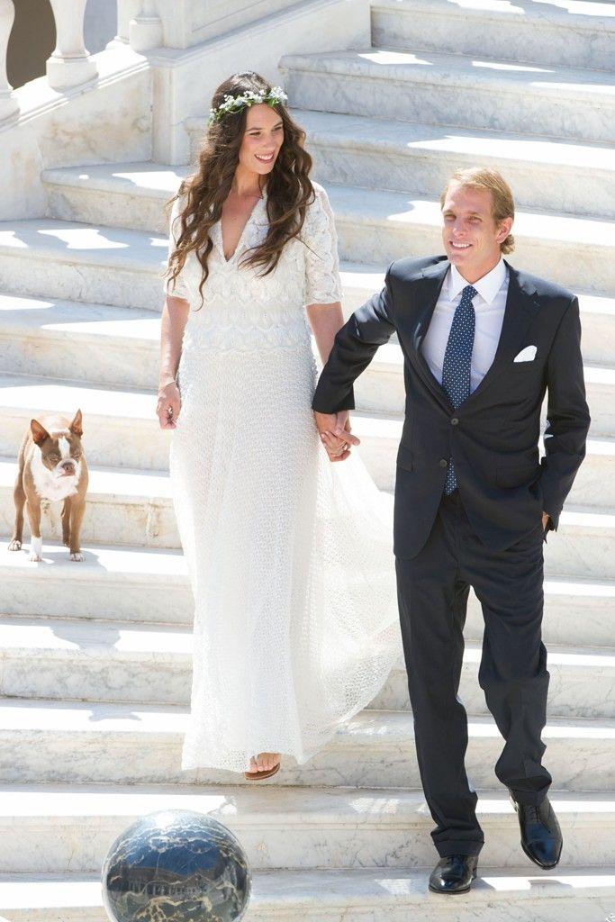 Santo Domingo Dons Missoni for Wedding [Photo by Palais princier de Monaco]